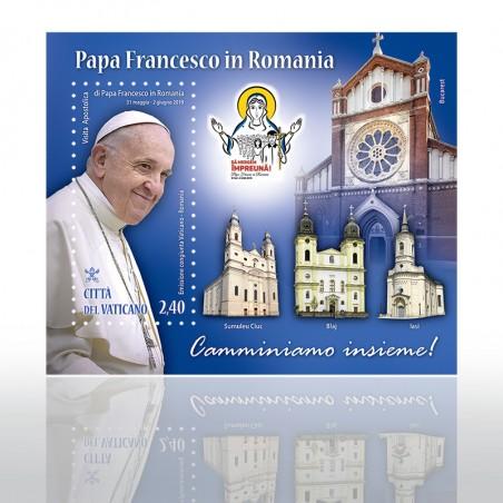 (31-05-2019) VIAGGIO PAPA FRANCESCO IN ROMANIA FOGL. SCV