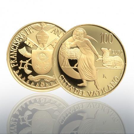 (07-05-2019) MONETA AUREA EURO 100 - 2019