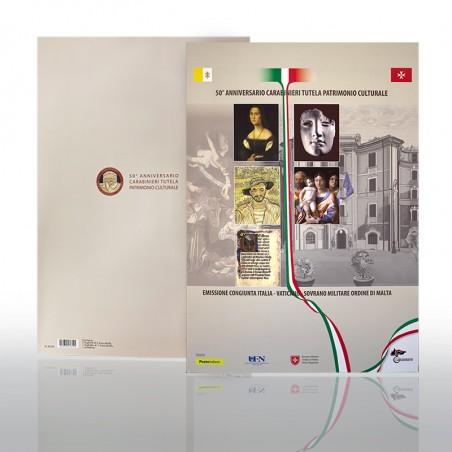 (29-04-2019) FOLDER 50° ANN. NUCLEO TUTELA PAT. ARTISITICO CARABINIERI
