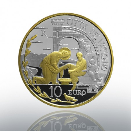 (01-10-2019) MONETA 10 EURO AG E AU (FS) 2019 PACE