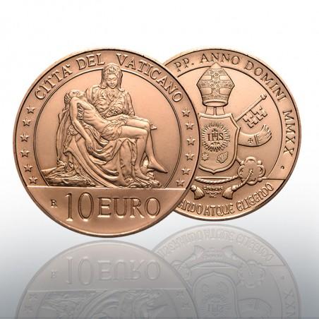 (05-03-2020) MONETA RAME 10 EURO - 2020