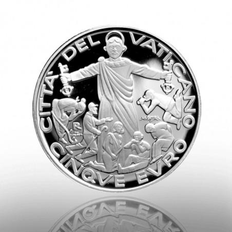 (16-10-2020) MONETA 5 EURO AG (FS) 2020 G.M. MIGRANTE