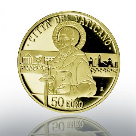 (16-10-2020) MONETA AUREA 50 EURO - 2020