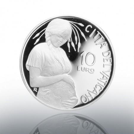 (16-10-2020) MONETA 10 EURO AG (FS) 2020 50° ANN. G. TERRA