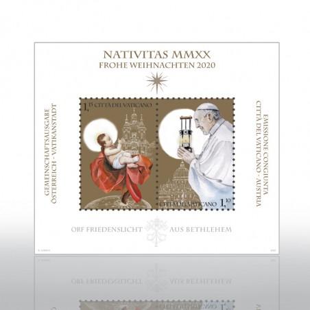 (10-11-2020) SANTO NATALE 2020: LUCE DELLA PACE DA BETLEMME - FOGLIETTO (SCV)