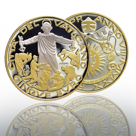 (10-12-2020) MONETA 5 EURO AG E AU (FS) 2020