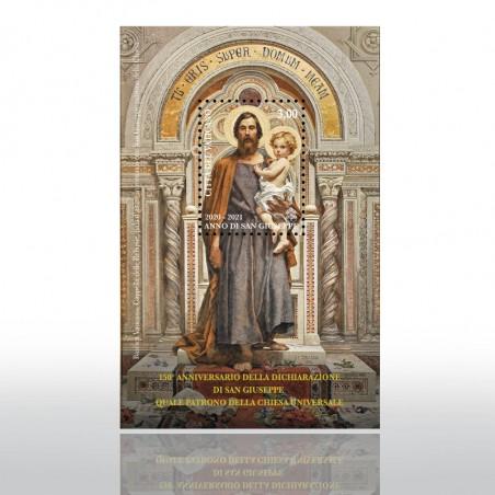 (22-02-2021)  YEAR OF SAINT JOSEPH - SHEET SIZE