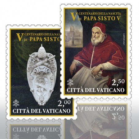 (25-05-2021) FIFTH CENTENARY OF THE BIRTH OF POPE SIXTUS V