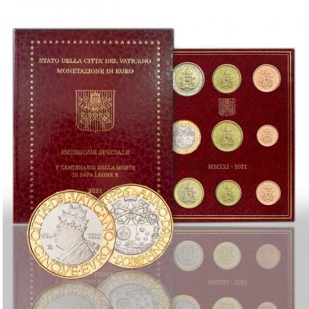 (03-05-2021) Euro coin set Bu version with 5 euro commemorative bimetallic coin - 2021