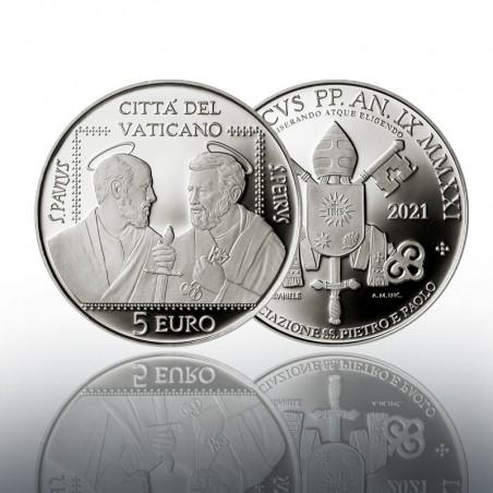 (25-06-2021) MONETA IN ARGENTO DA 5 EURO (FS) 2021